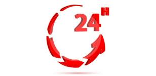 We are staffed 24/7